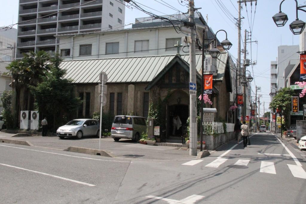 大宮聖愛教会 外観